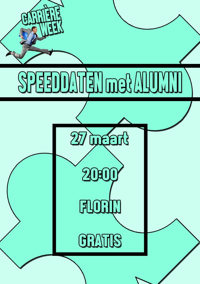 Speeddate poster